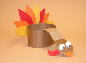 thanksgiving turkey hats crafts