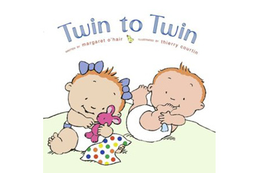 baby gifts for twins, twin to twin children's book