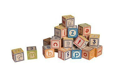 Best Toys Made in the USA, wooden blocks with non toxic paint