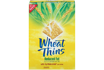 Healthy nut free school snack, Wheat Thins