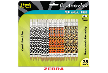 Zebra Cadoozles Mechanical Pencils