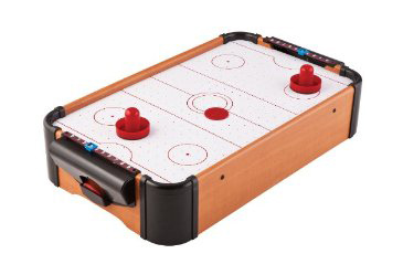 tabletop game, air hockey
