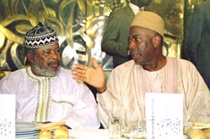Ahmed Tejan Kabbah and Foday Sankoh
