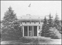 Veterans' Administration Hospital in Tuskegee, Alabama