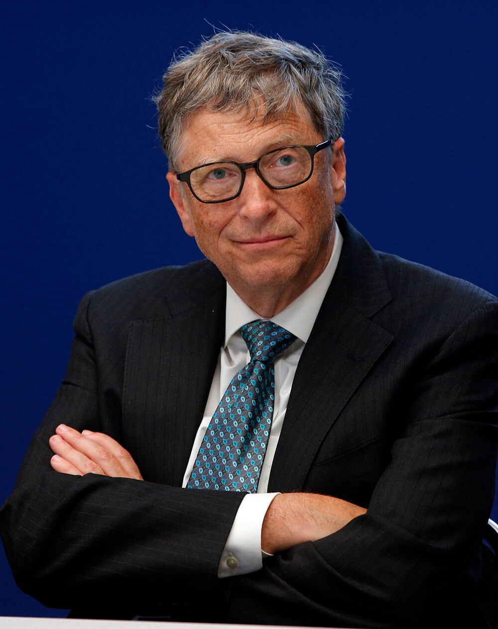 picture of Bill Gates, the richest man in America