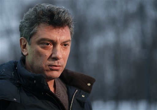 Russian opposition leader Boris Nemtsov