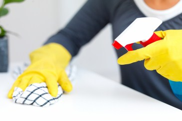 time saver, woman cleaning