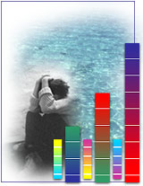 Image illustrating how color affects moods