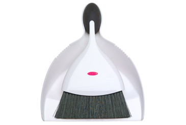 15 minute cleanup products, Oxo dust pan and brush