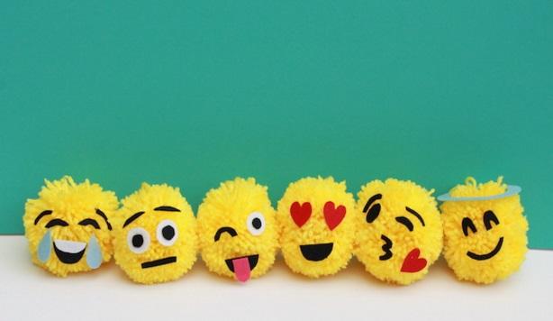 emoji christmas ornament craft