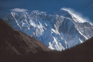 Everest from Dudu Kosi