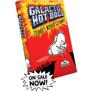 Galactic Hot Dogs Book for Sale