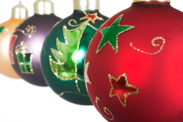 Christmas gifts for anyone, set of ball Christmas ornaments