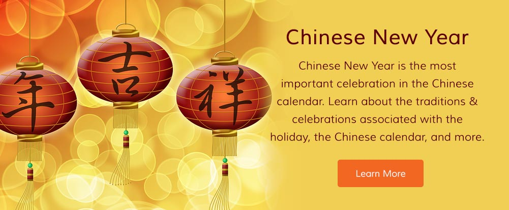 Chinese New Year is the most important celebration in the Chinese calendar. Learn about the traditions and celebrations associated with the holiday, the Chinese calendar, and more.