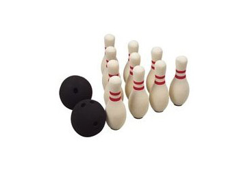 tabletop game, foam bowling