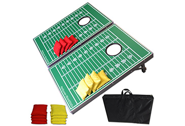 football cornhole game