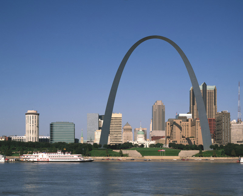 Gateway arch for Architect st louis mo