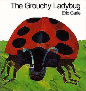 Grouchy Ladybug book cover