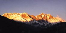 Everest from Dudh Kosi