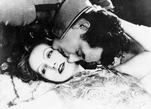 Greta Garbo and John Gilbert