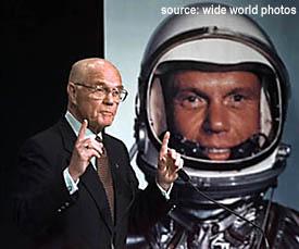 John Glenn, astronaut and senator