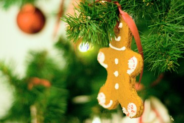 traditional christmas activity, gingerbread ornament