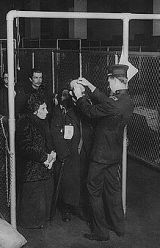 immigrant exam at Ellis Island