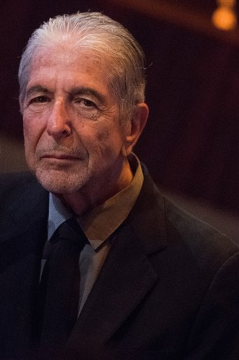 Biography of the Day: Leonard Cohen