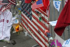 boston marathon bombing shrine