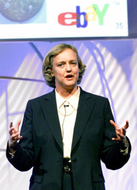 Meg Whitman, CEO of eBay