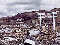 Nagasaki after the bombings