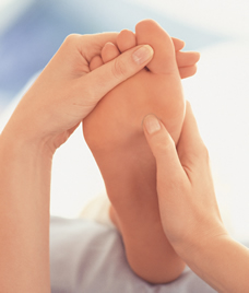 foot reflexology during pregnancy