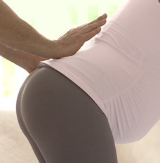 Pregnant low back massage