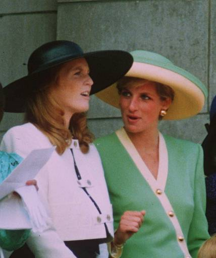Princess Diana and Fergie