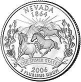 State Quarter of Nevada (reverse)