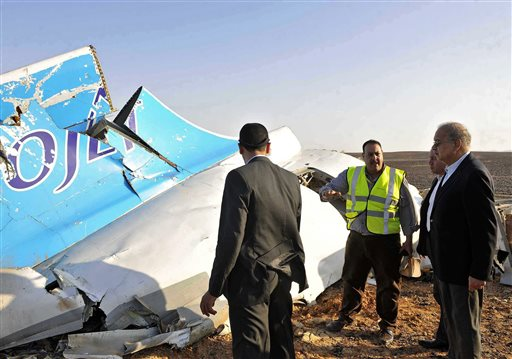Russian plane crash in Egypt
