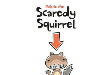 book for anxious child, Scaredy Squirrel