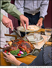 Carving, and serving, the perfect turkey