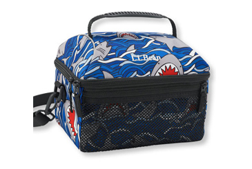 LL Bean shark lunch box