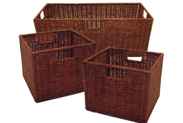 15 minute cleanup products, decorative woven baskets