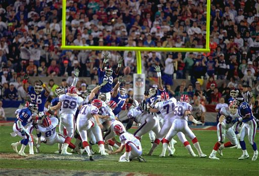 Super Bowl XXV Giants Bills
