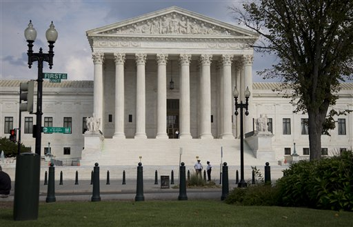 picture of U.S. Supreme Court building in Washington, D.C.