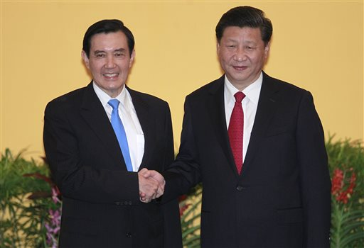 Xi Jinping and Ma Ying-jeou