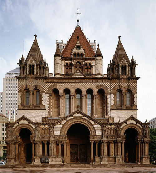 Institute of Architects and Harris Interactive selected Trinity Church ...