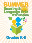 reading and language arts workbook