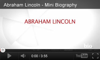 Video: Abraham Lincoln - Mini Biography