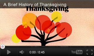 Video: A Brief History of Thanksgiving