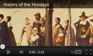 Video: History of the Holidays, History of Thanksgiving