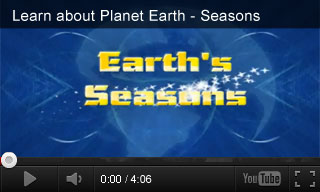 Video: Learn about Planet Earth – Seasons