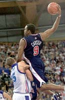 Vince Carter at the 2000 Summer Olympics in Sydney